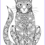 Adult Coloring Pages Cats Elegant Images Cat Coloring Page By Miedzykreskami On Etsy