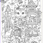 Adult Coloring Pages Cats Luxury Photos Creative Cats Adult Coloring Pages Gatos