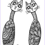 Adult Coloring Pages Cats New Image Cat Coloring Pages For Adults