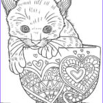 Adult Coloring Pages Cats Unique Image 30 Free Printable Cat Coloring Pages