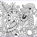 Adult Coloring Pages Easy Beautiful Collection How To Draw Zentangle Patterns Hobbycraft Blog