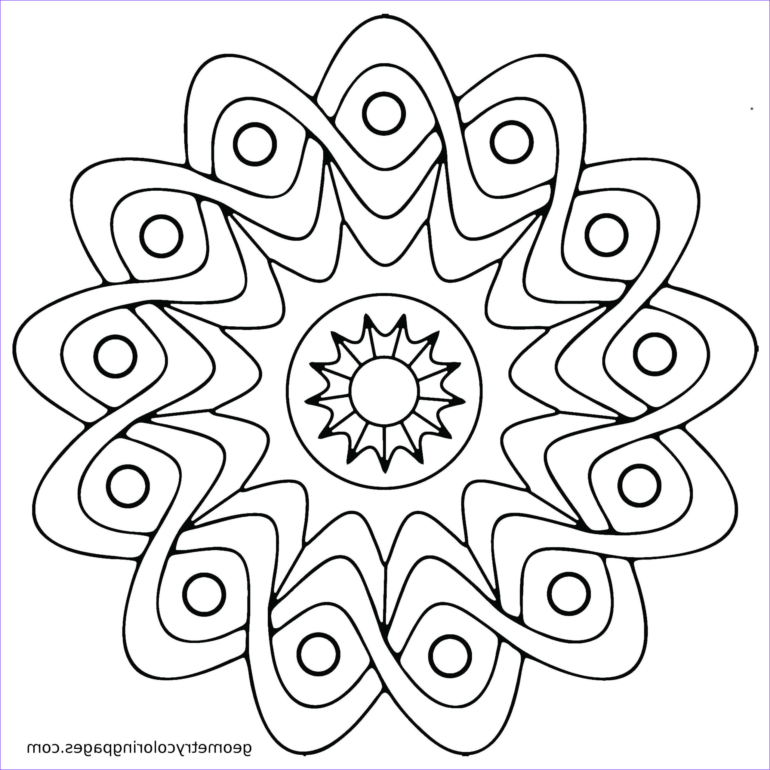 Adult Coloring Pages Easy Beautiful Gallery Mandala Coloring Pages Easy Mandala Coloring Pages