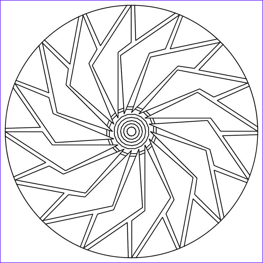 Adult Coloring Pages Easy Luxury Gallery Free Printable Mandala Coloring Pages