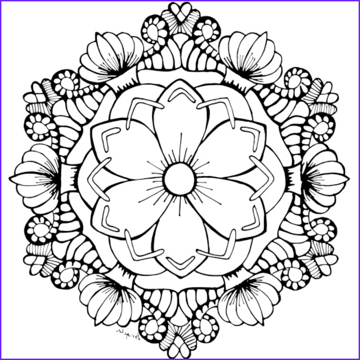 Adult Coloring Pages Flower Unique Photos Free Coloring Pages for You to Print
