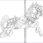 Adult Coloring Pages Horse Cool Photos 131 Best Carousel Animals Images On Pinterest