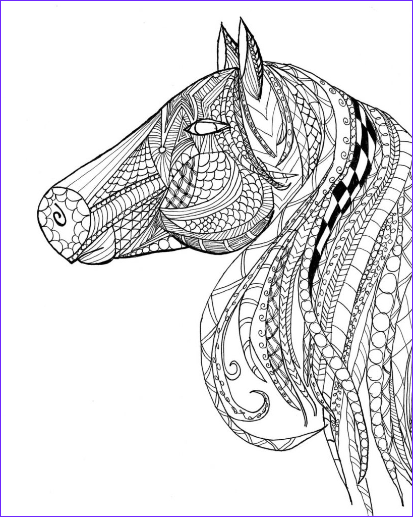 Adult Coloring Pages Horse Inspirational Stock Horse Coloring Pages for Adults Best Coloring Pages for Kids