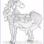 Adult Coloring Pages Horse New Image Free Horse Coloring Pages