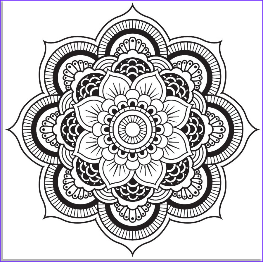 Adult Coloring Pages Mandala Awesome Photos 63 Adult Coloring Pages to Nourish Your Mental Visual