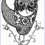 Adult Coloring Pages Owls Beautiful Photos Free Owl Adult Coloring Pages To Print Coloring Home