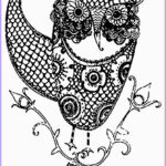 Adult Coloring Pages Owls Cool Image Owl Adult Free Printable Coloring Pages