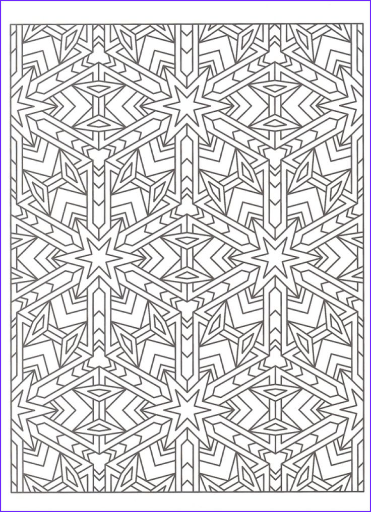 Adult Coloring Pages Patterns Luxury Photos Free Tessellation Coloring Page to Print Out