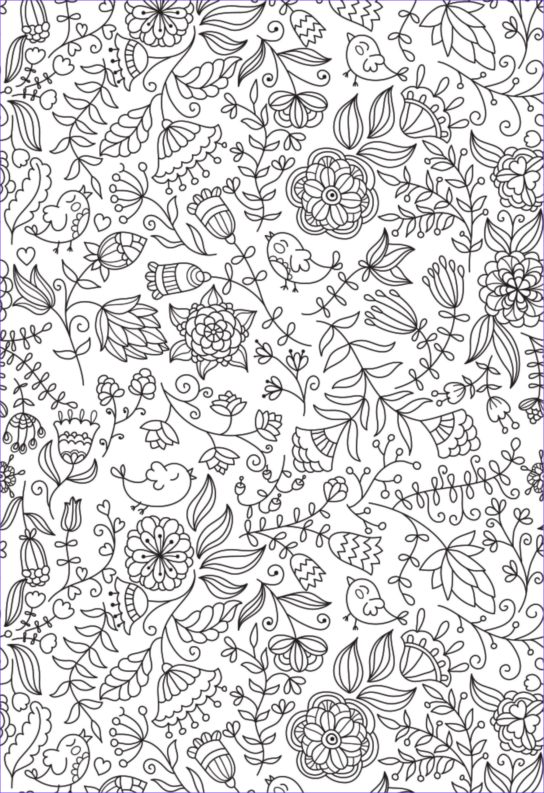 Adult Coloring Pages Patterns New Photography We Ve Fallen In Love with This Beautiful Colouring Design