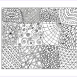 Adult Coloring Pages Pdf Cool Image Zendoodle Coloring Page Printable Pdf Zentangle Inspired