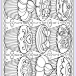 Adult Coloring Pages Printables Awesome Photos Creative Haven Designer Desserts Coloring Book Dover