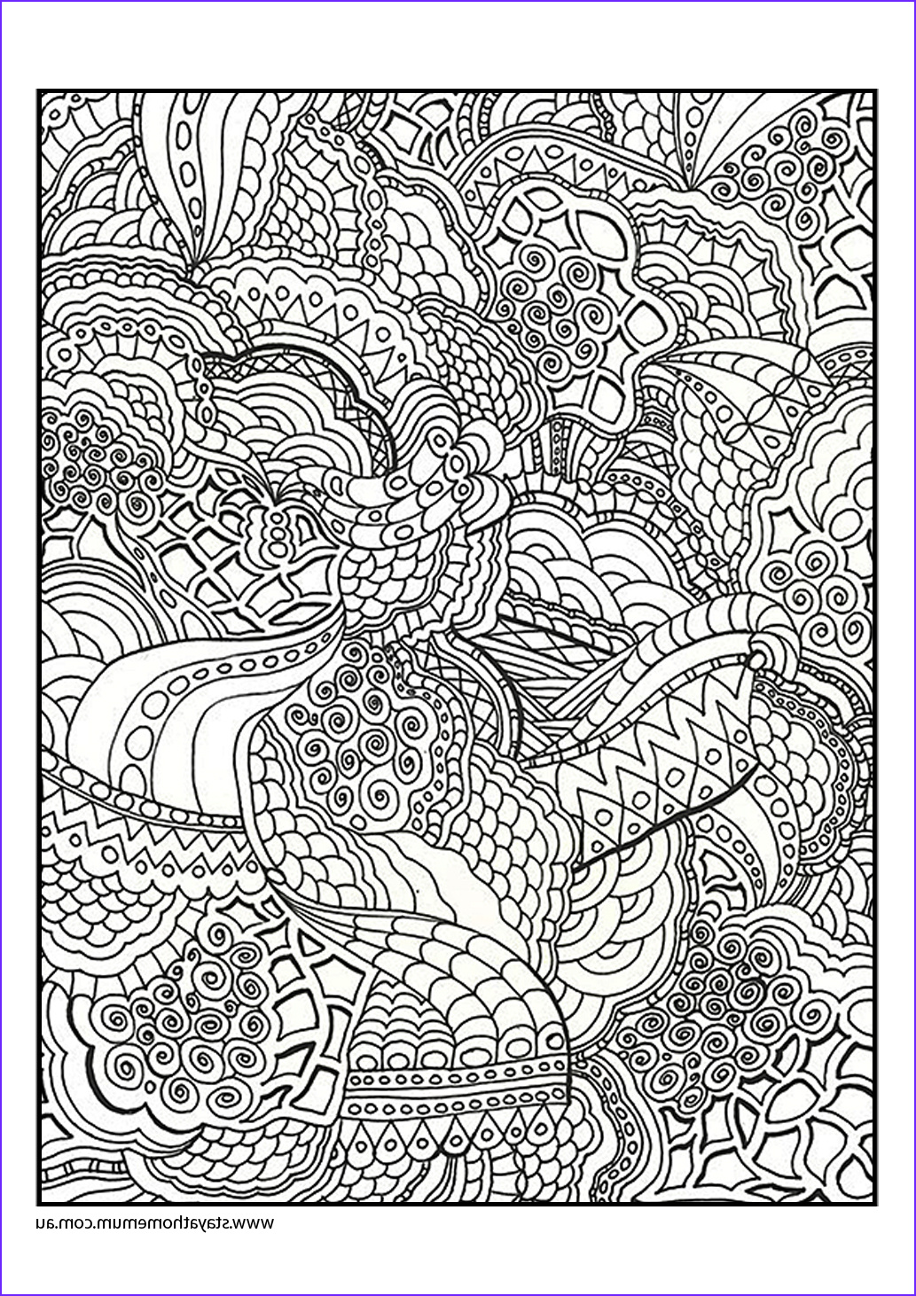 printable colouring pages for kids and adults