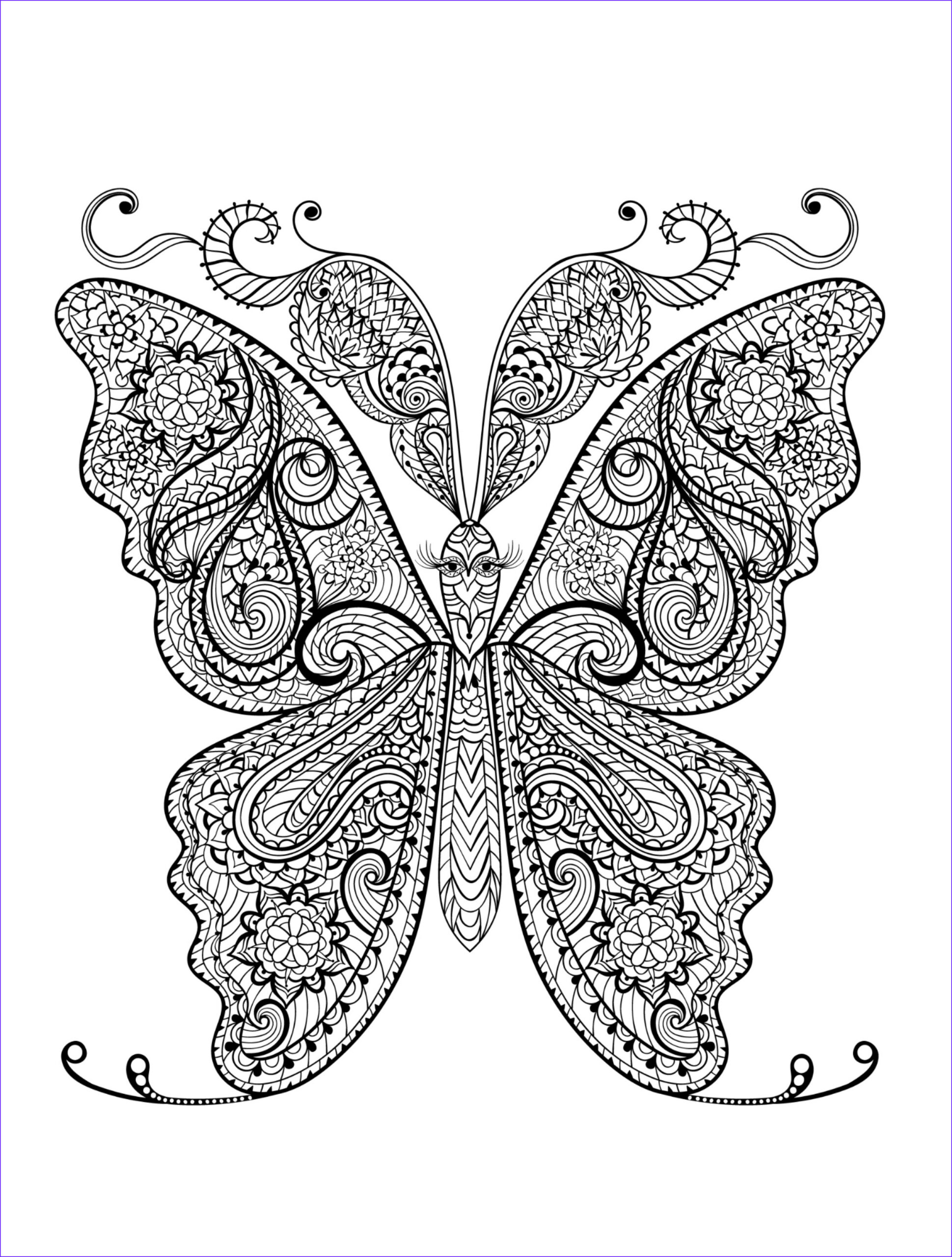 animal coloring pages adults