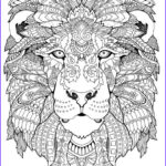 Adult Coloring Pages Printables New Collection Awesome Animals Adult Coloring Pages Coloring Pages
