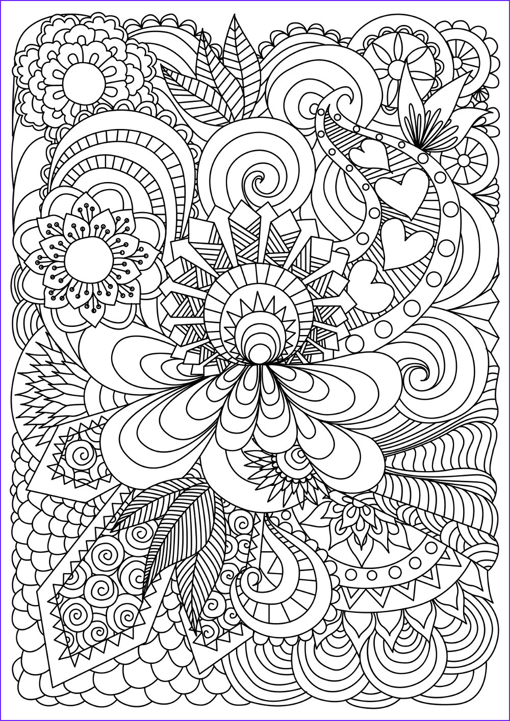 Adult Coloring Pictures Best Of Collection 37 Best Adults Coloring Pages Updated 2018