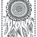 Adult Coloring Posters Awesome Photography Poster Dreamcatcher Art To Color 11 X 14 By