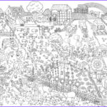 Adult Coloring Posters Cool Images 12 Best Images About Värvi Ise Postrid Really Giant