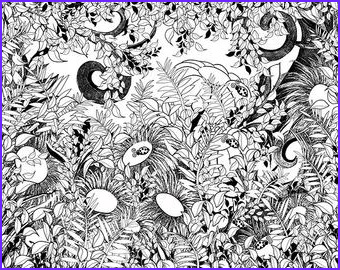 printable coloring poster adult coloring