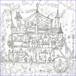 Adult Coloring Posters Unique Photos Princess Palace Colouring In Poster