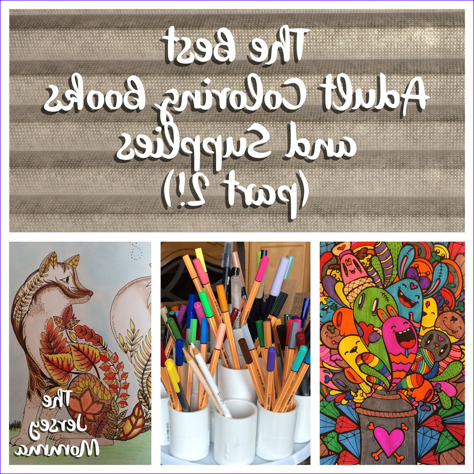 Adult Coloring Supplies Inspirational Stock the Jersey Momma the Best Adult Coloring Books and