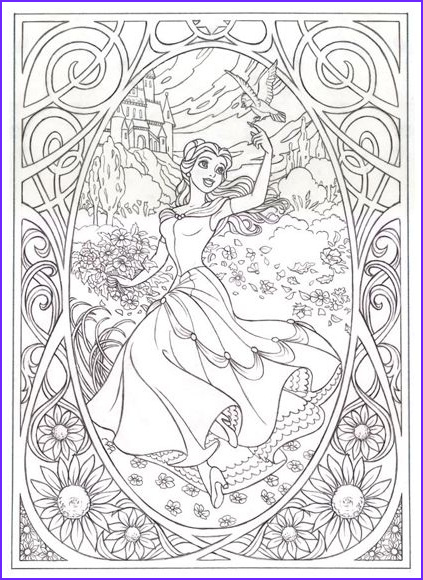 Adult Disney Coloring Books Inspirational Stock Disney Adult Coloring Pages