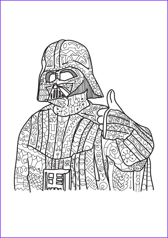 Adult Star Wars Coloring Book Best Of Photos Darth Vader Star Wars Coloring Page Adult Coloring by