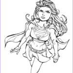 Adult Superhero Coloring Books Beautiful Photography Printable Supergirl Coloring Pages For Girls
