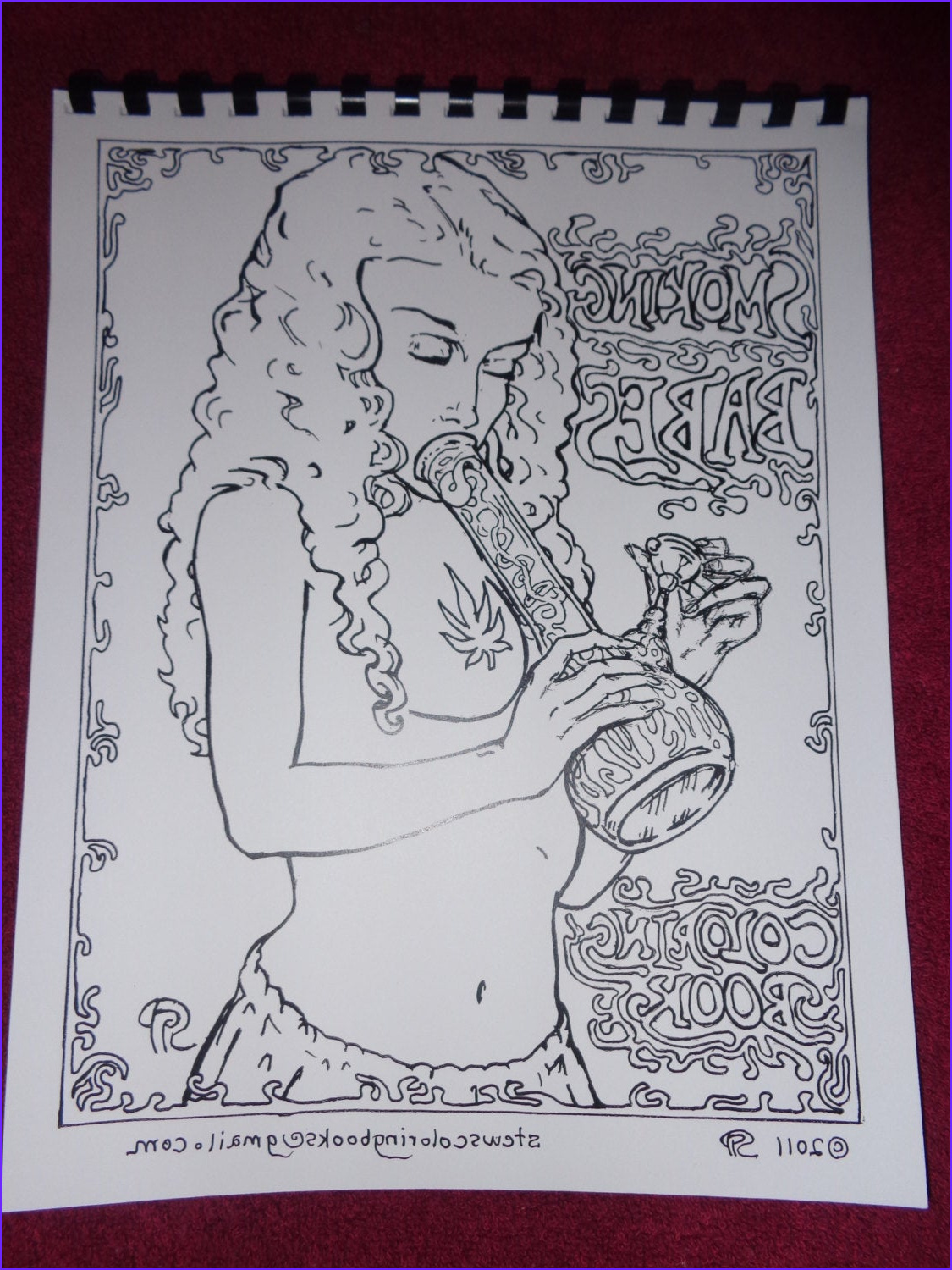 Adult themed Coloring Books Best Of Photos Smoking Babes Babes and Bongs themed Adult by Stewartprather