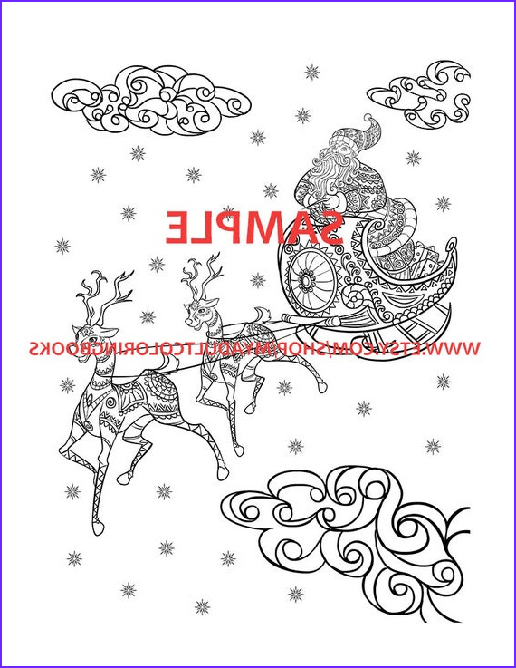 Adult themed Coloring Books Inspirational Collection 30 Christmas themed Coloring Book Pages for Adults Christmas
