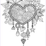 Adults Coloring Book Images Awesome Collection Adult Dreams Catcher Heart Mandala Zen Coloring Pages