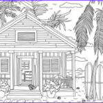 Adults Coloring Book Images Inspirational Photography Beach House Printable Adult Coloring Page From Favoreads