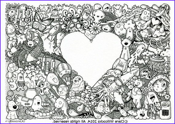 detailed colouring pages to print