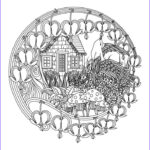 Adults Coloring Book Images New Photos Coloring Flower Mandalas A Garden Inspired Coloring Book