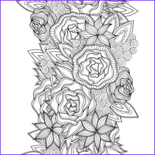 flower advanced coloring pages 14