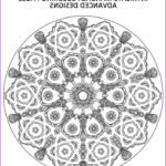 Advanced Mandala Coloring Pages Inspirational Photos 577 Best Images About Coloring Mandalas On Pinterest