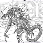 Alien Coloring Book Awesome Image Alien The Coloring Book Color In Your Own Xenomorph Ign