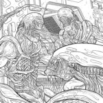 Alien Coloring Book Cool Photos Download Four Exclusive Alien Coloring Book Pages