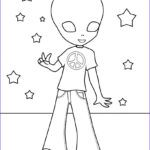 Alien Coloring Book Luxury Photography Free Printable Alien Coloring Pages For Kids
