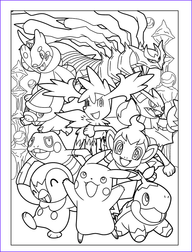 pokemon coloring pages