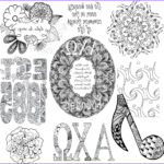 Alpha And Omega Coloring Pages Best Of Gallery Alpha Chi Omega Adult Coloring Book College Coloring Books