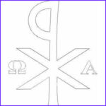 Alpha And Omega Coloring Pages Cool Stock 17 Best Images About Simboli Cristiani On Pinterest