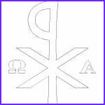 Alpha And Omega Coloring Pages Inspirational Photos Illuminated K Coloring Page