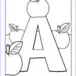 Alphabet Coloring Book Luxury Stock A Is For Apples Free Coloring Pages For Kids Printable