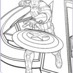 America Coloring Pages Beautiful Gallery Avengers Captain America Coloring Page