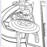 America Coloring Pages Beautiful Photos Captain America Coloring Pages