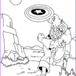 America Coloring Pages Cool Stock Captain America