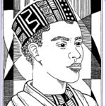 American Coloring Awesome Collection African American Coloring Pages